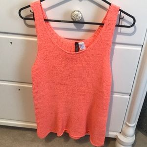 Crotchet/knit tank